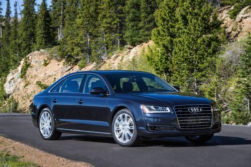 Audi A8 L готовится к тестам