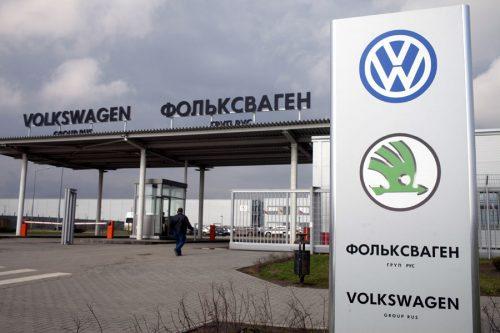 Завод Volkswagen в Калуге вышел из отпуска