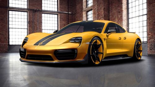 Названы объемы продаж Porsche Taycan
