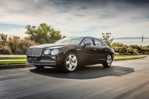 Bentley Flying Spur попал под отзыв