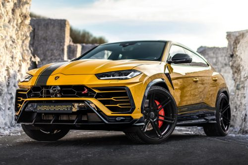 Lamborghini Urus Evo уже на тестах