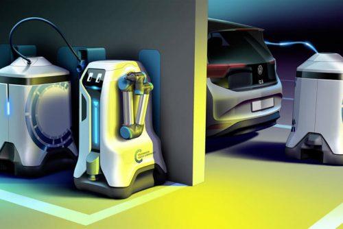 Новая зарядка для автомобилей Volkswagen