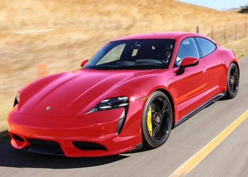 Porsche Taycan собирали по-новому