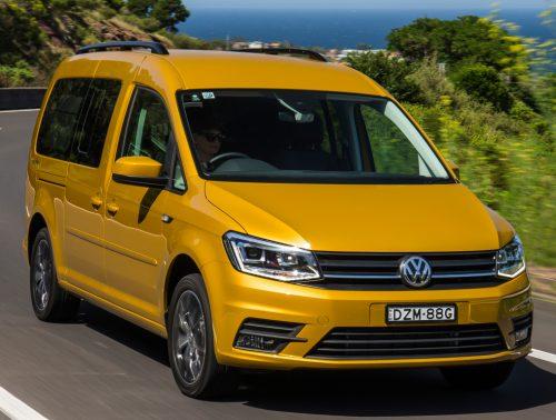 В России стартовал прием заказов на новый Volkswagen Caddy