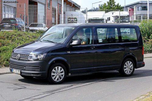 Новые подробности о Volkswagen Transporter 7