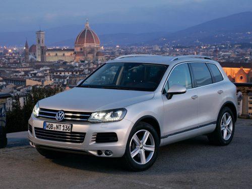 Volkswagen Touareg может получить кузов кросс-купе, рендеры уже есть
