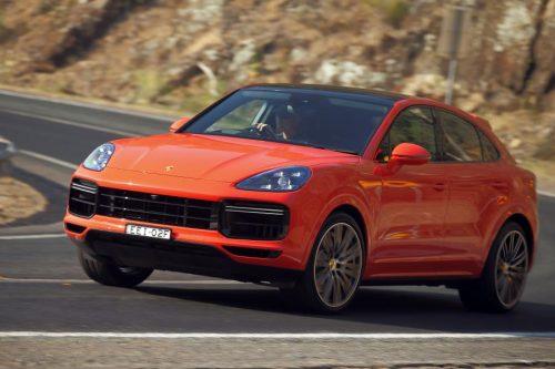 Новая версия Porsche Cayenne Coupe на тестах побила рекорд скорости