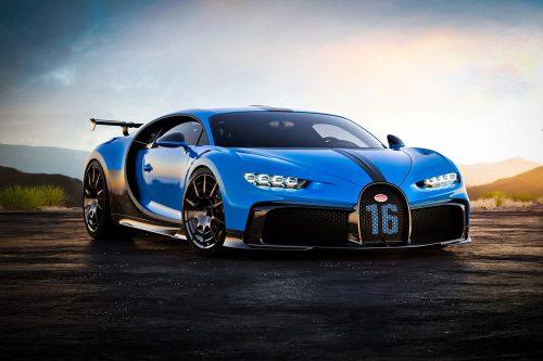 Bugatti больше всего любят в Северной Америке